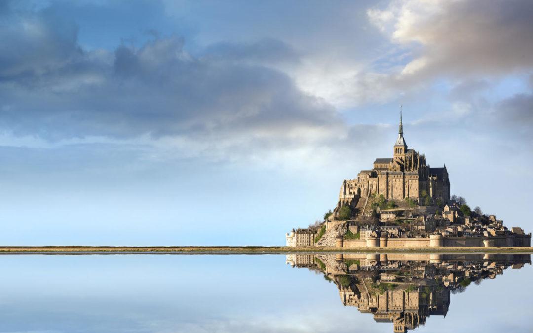 Séminaire 2020: l'équipe de Solis au Mont Saint-Michel